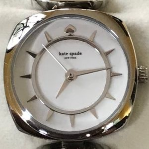 kate spade Mini Barrow Stainless Steel Watch